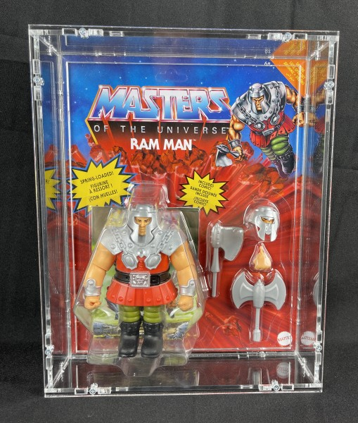 MotUO Origins - Deluxe Case - Ram Man, Clamp Champ, Battle Armor He-Man und Battle Armor Skeletor C