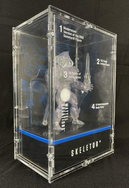 MotUO Origins - Skeletor - Mattel Creations Clear