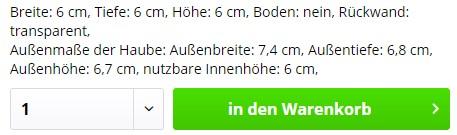 Haube-Infoblock