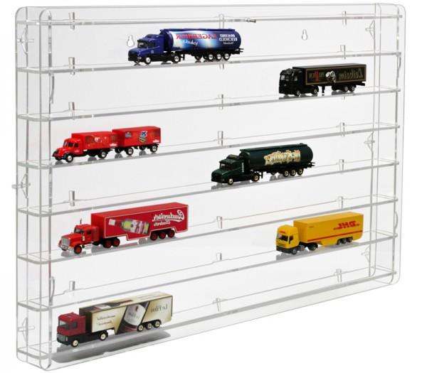 Truckvitrine für 1 zu 87 Rückwand transparent Bild 3