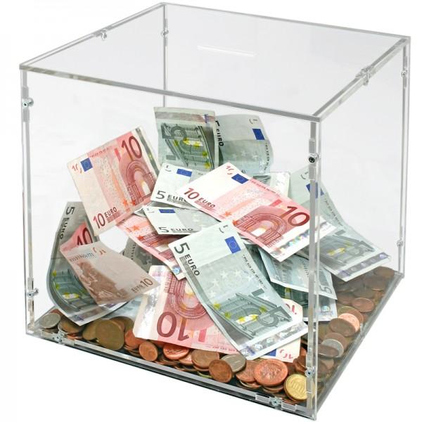 Spendenbox nach Maß Bild 1