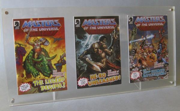 MotUC Mini Comic Ständer für 3 Comics
