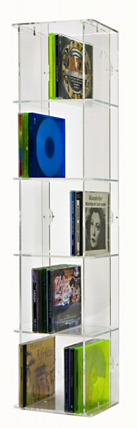 CD Tower mit transparenter R